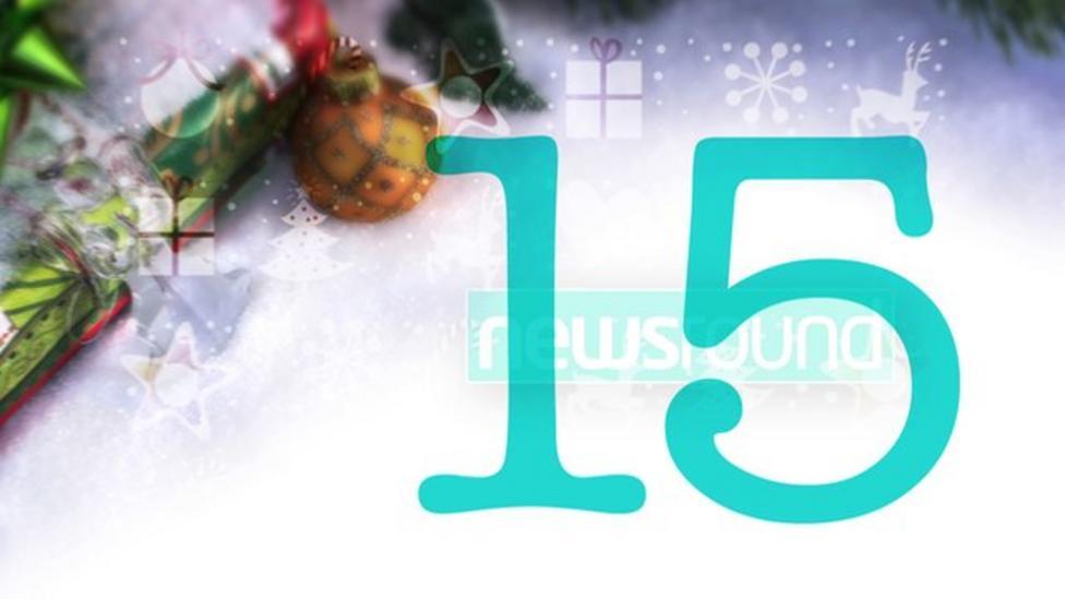 Newsround's advent calendar 2015