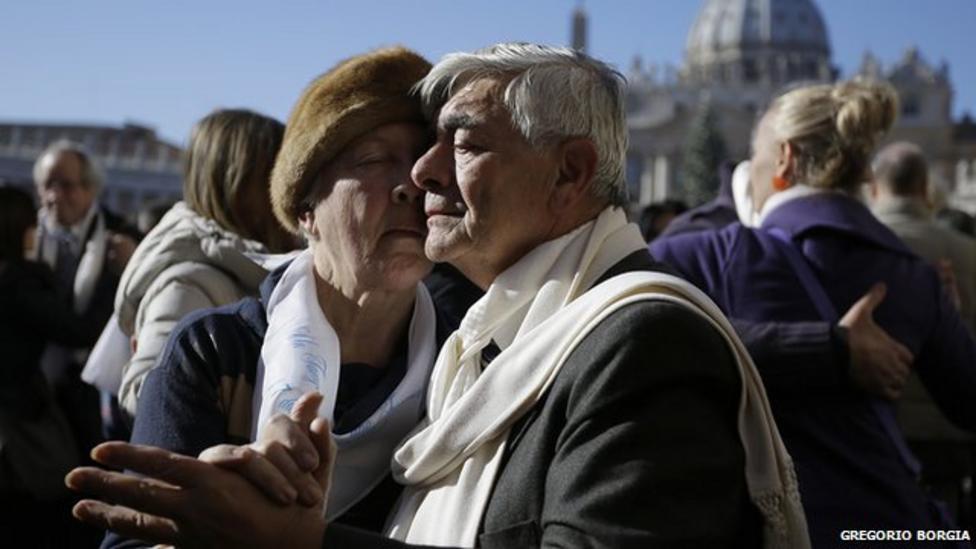 Mass tango for Pope's birthday