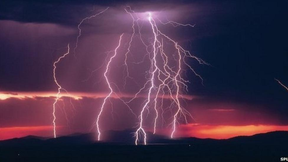 Cosmic bangs found in thunderstorms