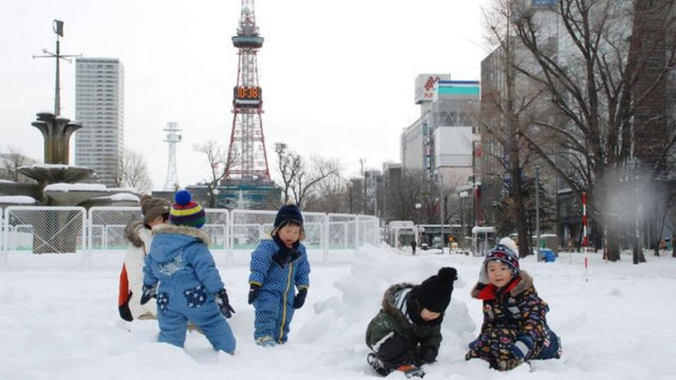 Japan hit by heavy snow and gales