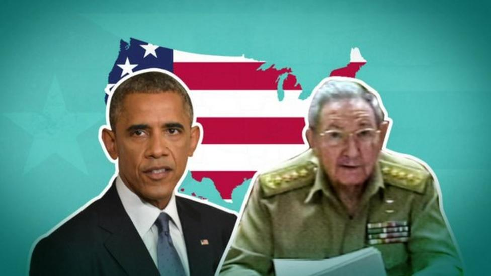 Why did the USA and Cuba fall out?