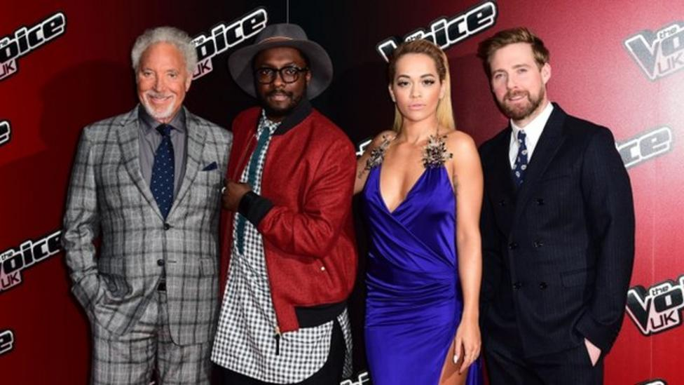 Leah meets new Voice judge Rita Ora