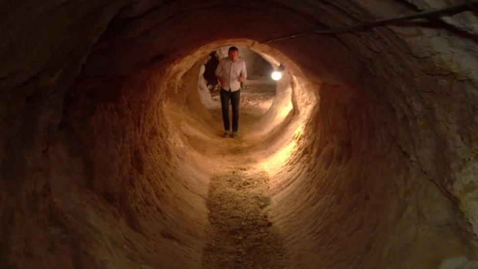 The people living underground