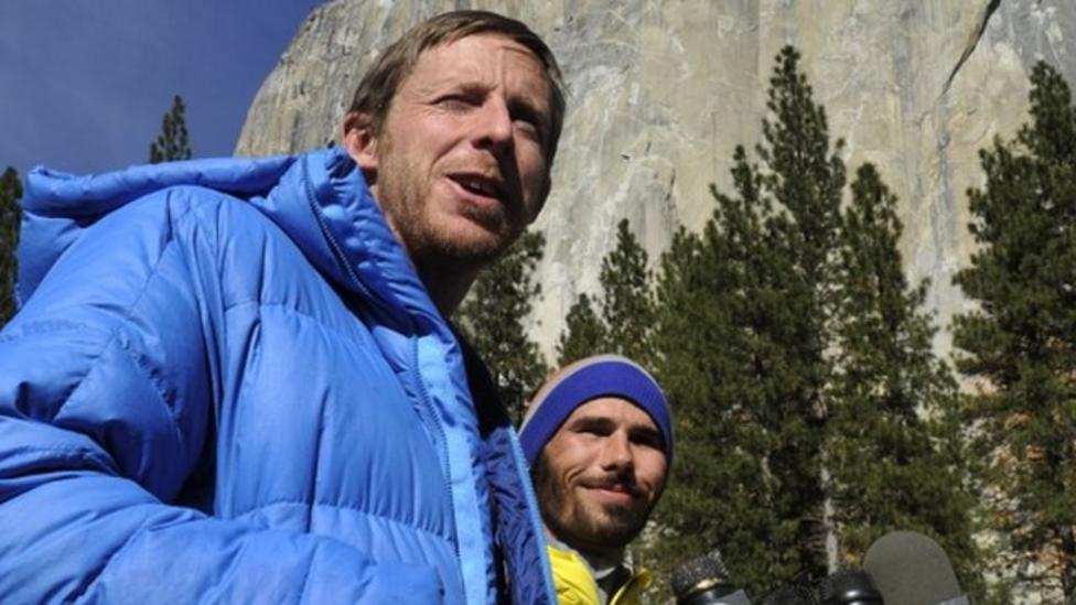 El Capitan climbers on making history