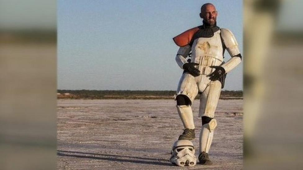 Star Wars costume 'saved my life'