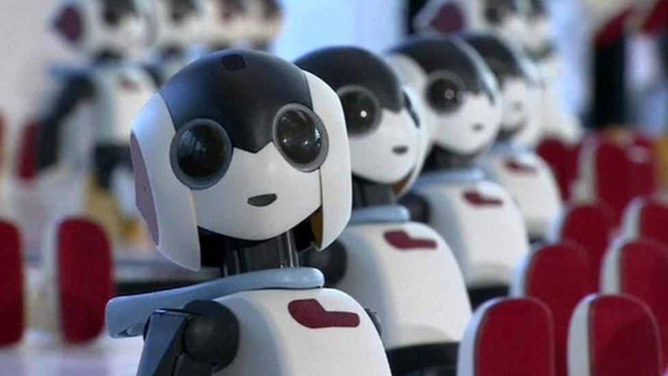 100 robots perform dance spectacular