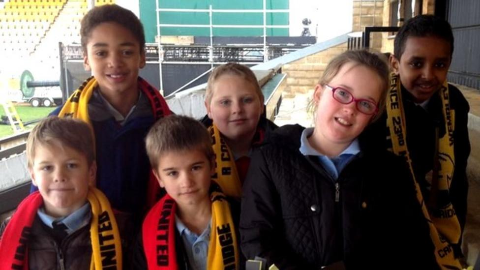Cambridge fans ready for Man United