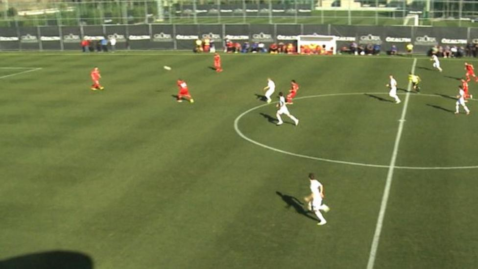 Five-second goal from half-way line!