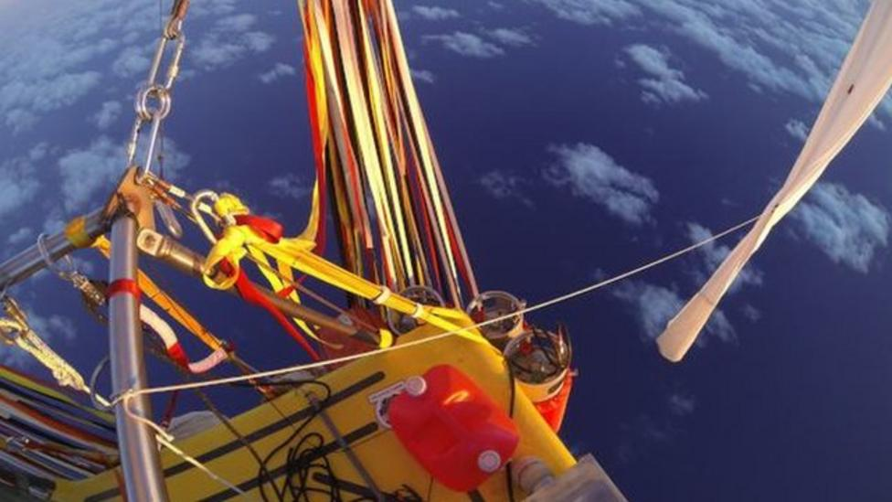 Helium balloon flight record broken