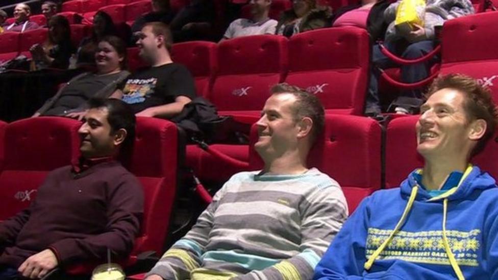 UK's first 4D cinema