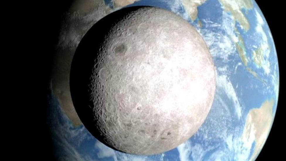 Nasa reveals far side of the Moon
