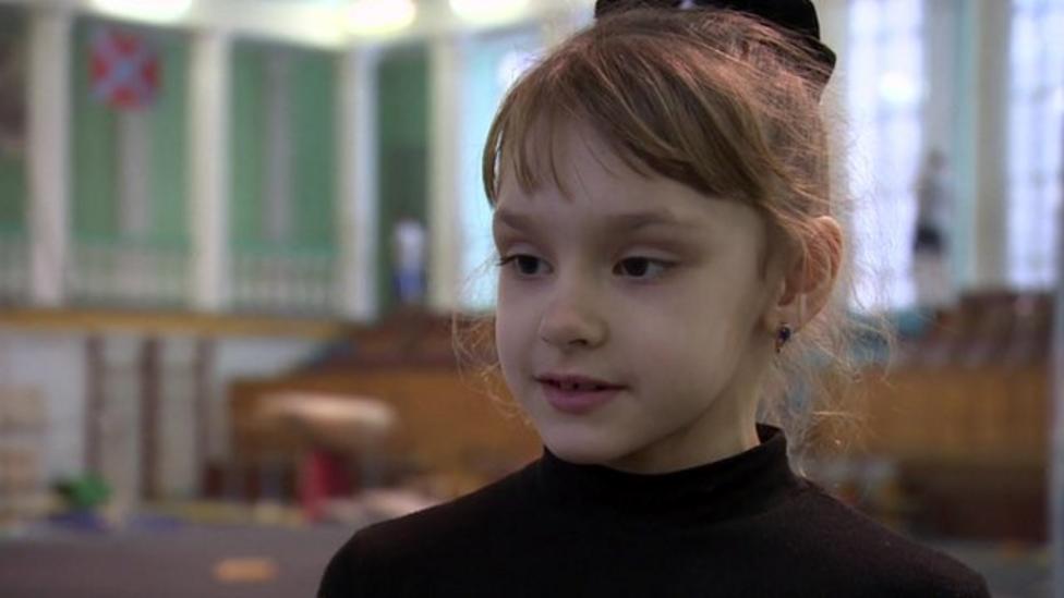 Ukrainian kids on life in a war zone