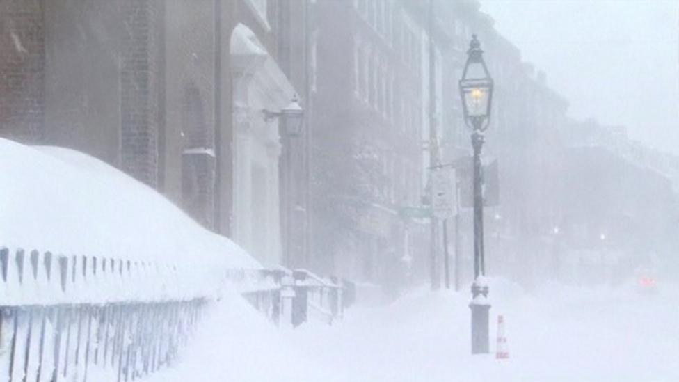 More massive snowstorms in Boston USA