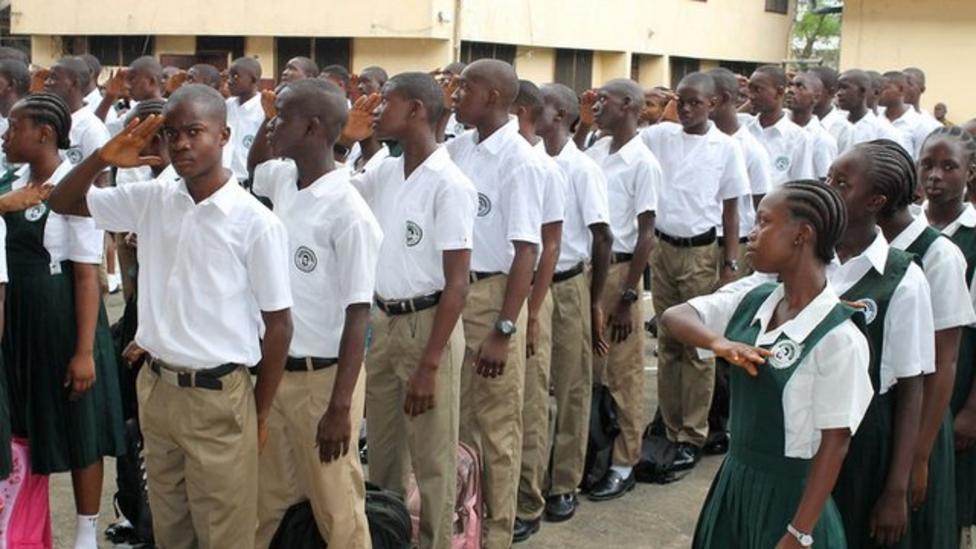 Kids go back to school in Liberia