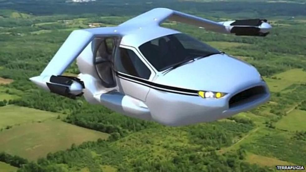 Self-flying cars in the sky?