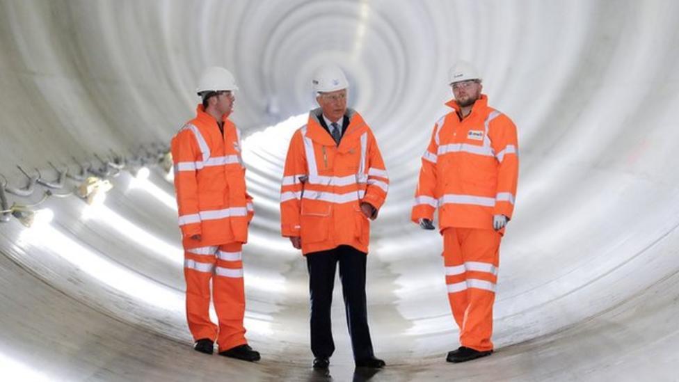 See inside a 'super sewer'