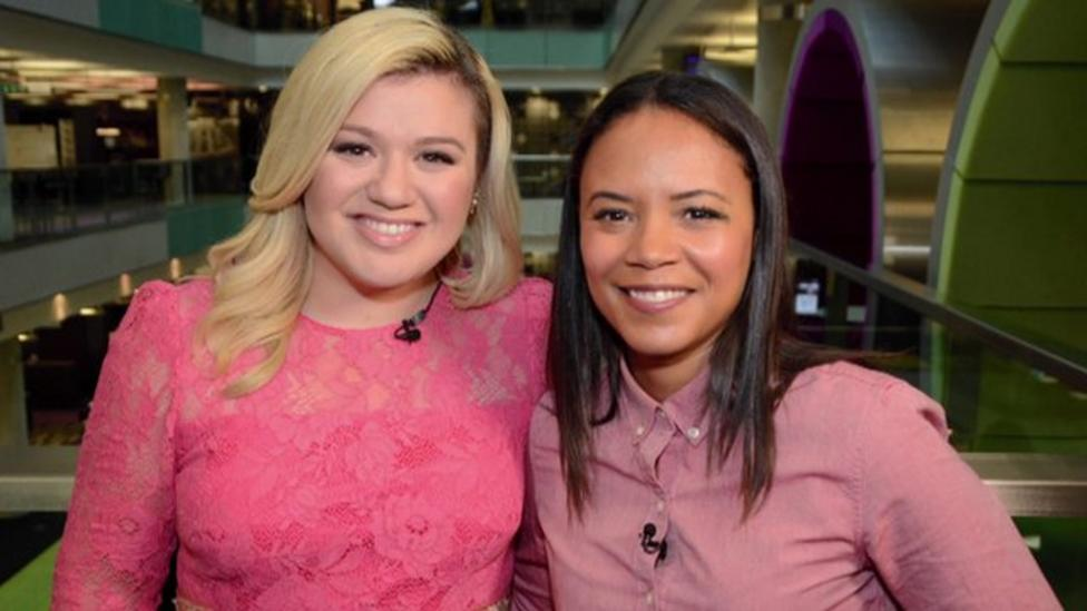 Singer Kelly Clarkson chats to Newsround