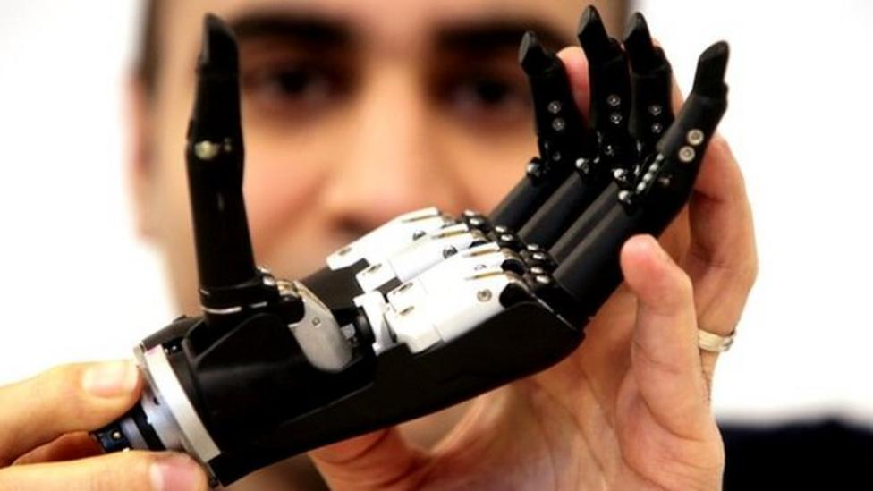 New bionic hands that can 'feel'