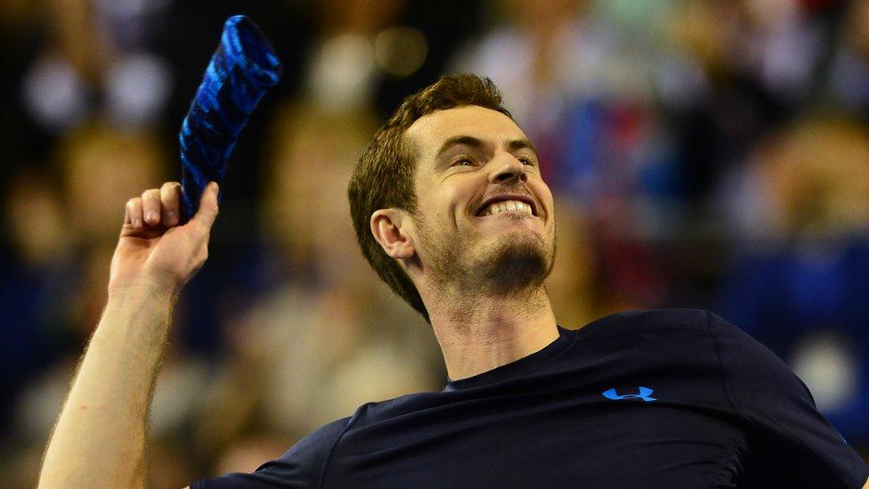 Andy Murray's win at the Davis Cup