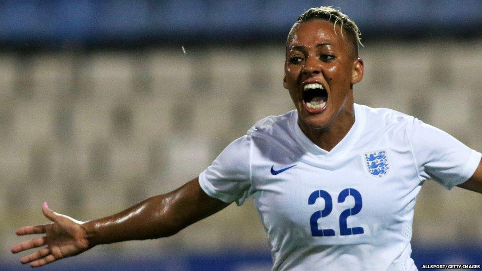 England's women win the Cyprus Cup.