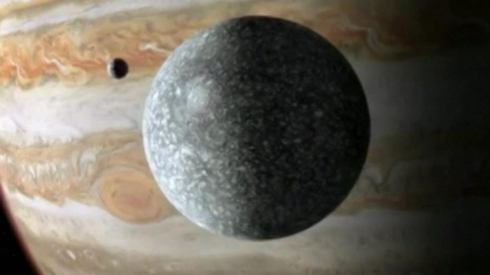 Is there life on Jupiter's moon?