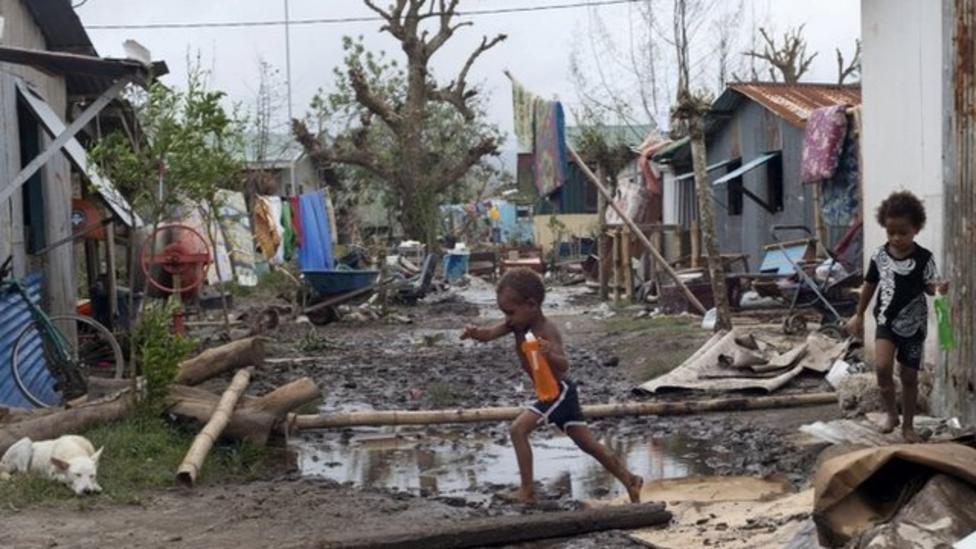 Cyclone-hit Vanuatu asks for help