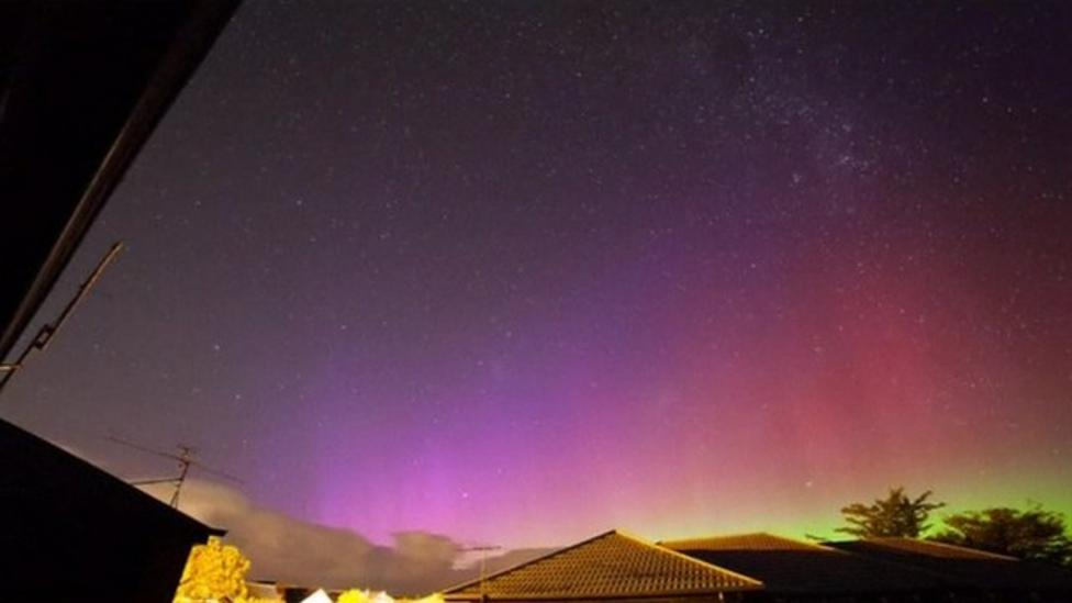 Southern Lights in New Zealand skies