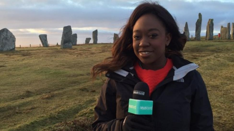 Watch Newsround from the Isle of Lewis