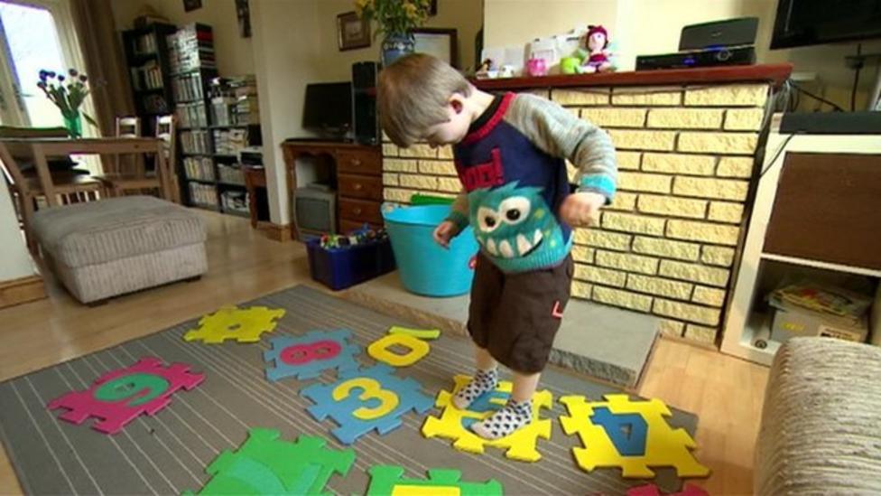 Meet the 3 year-old genius