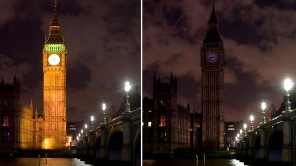Landmarks go dark for Earth Hour