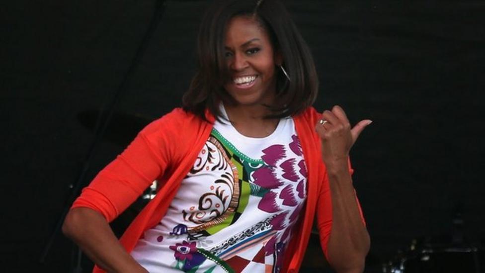 Michelle Obama's Uptown Funk dance