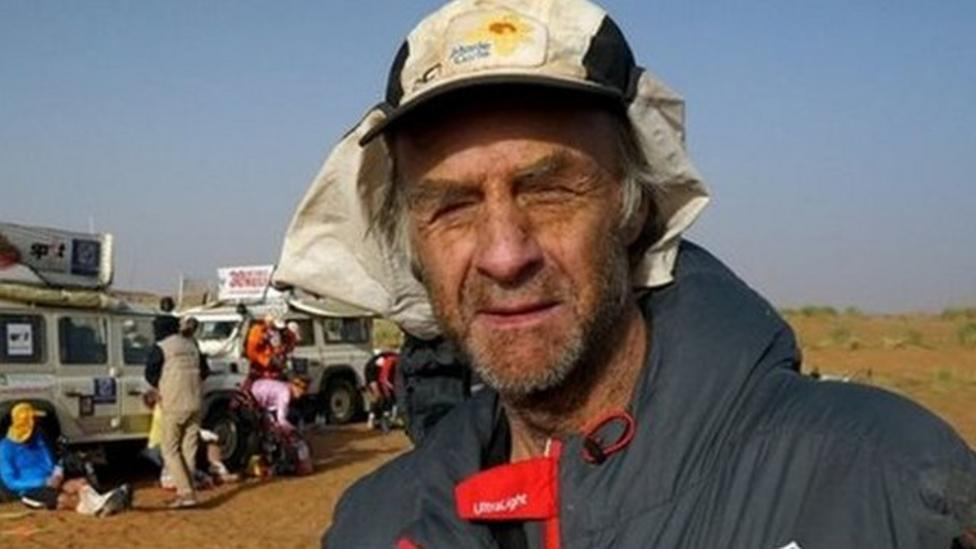 Adventurer finishes 'world's toughest race'