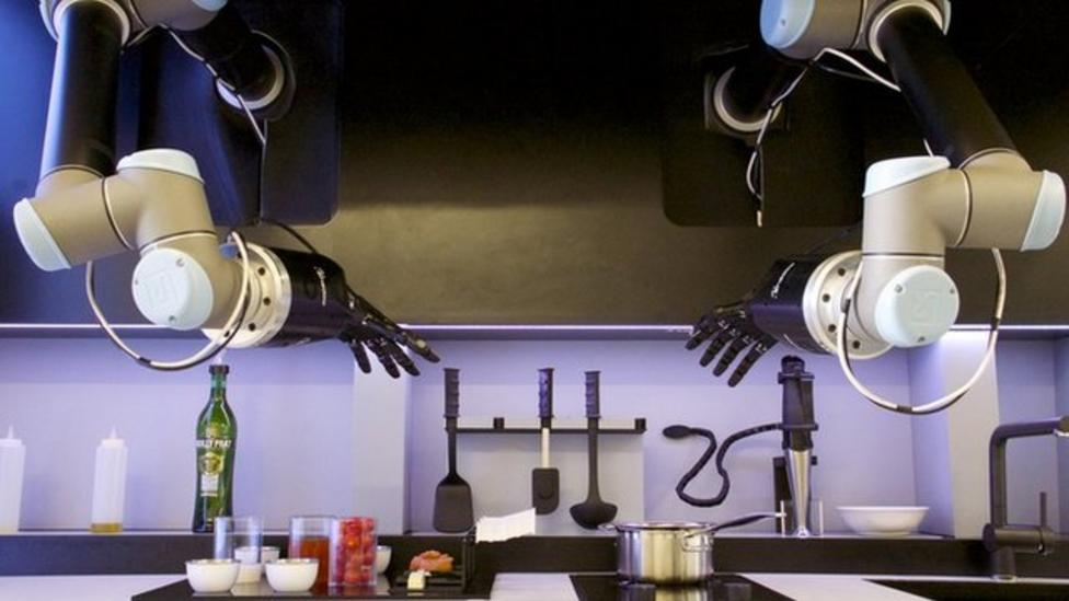 High-tech robot chef revealed
