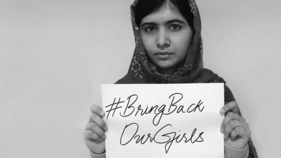 Malala: Nigeria 'must keep looking'