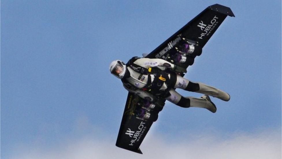 Meet the jet-propelled man