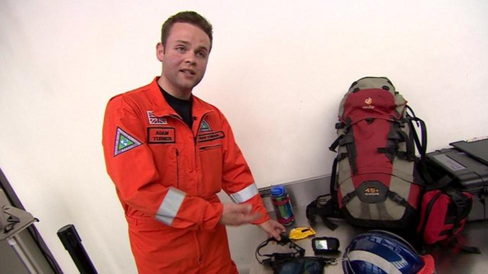 What do rescue workers take to Nepal?
