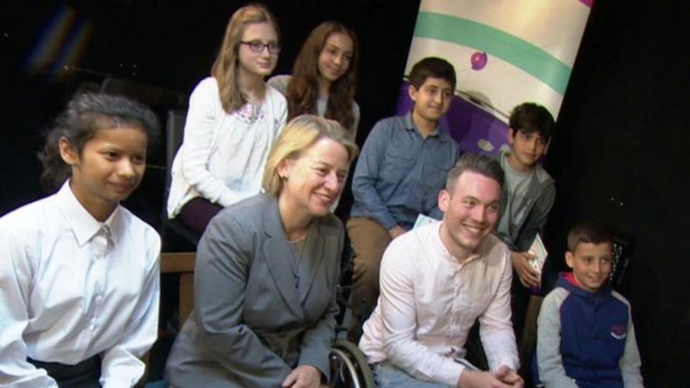 Kids quiz Green Party's Natalie Bennett