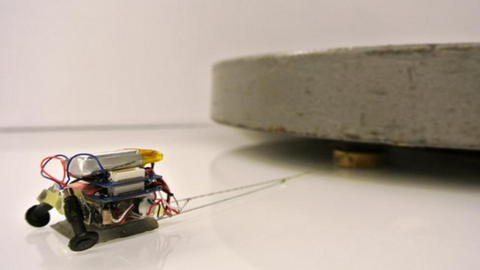 Tiny super-strong robots developed
