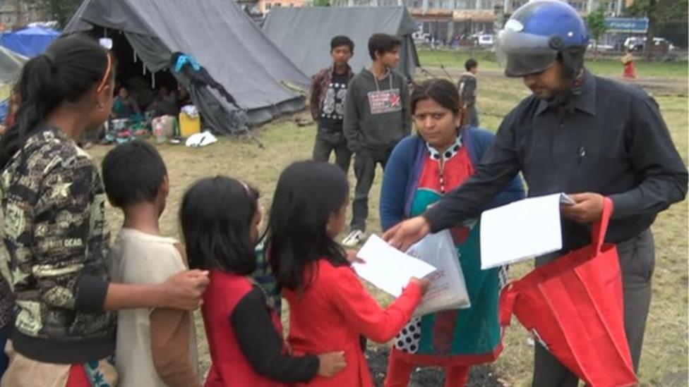 Life for kids in Nepal camps