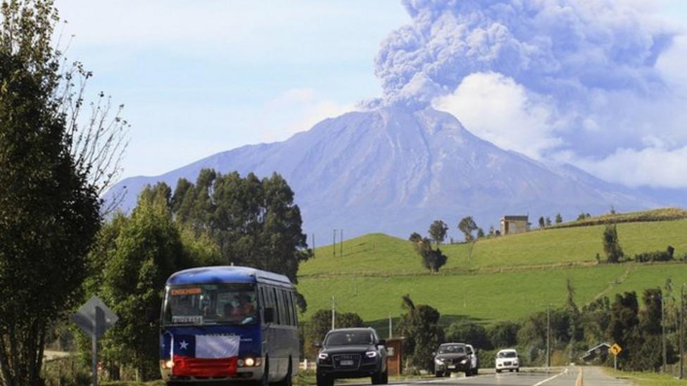 Chile's Calbuco volcano erupts again