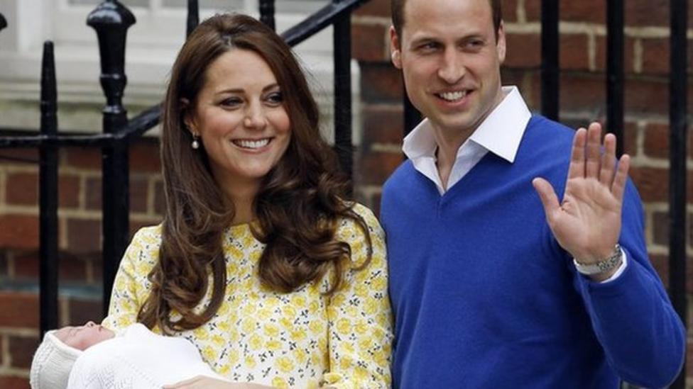 Gun salutes mark royal baby birth