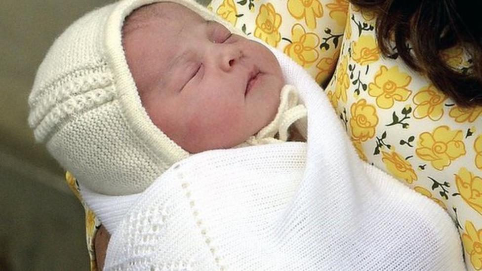 Royal baby girl named Charlotte