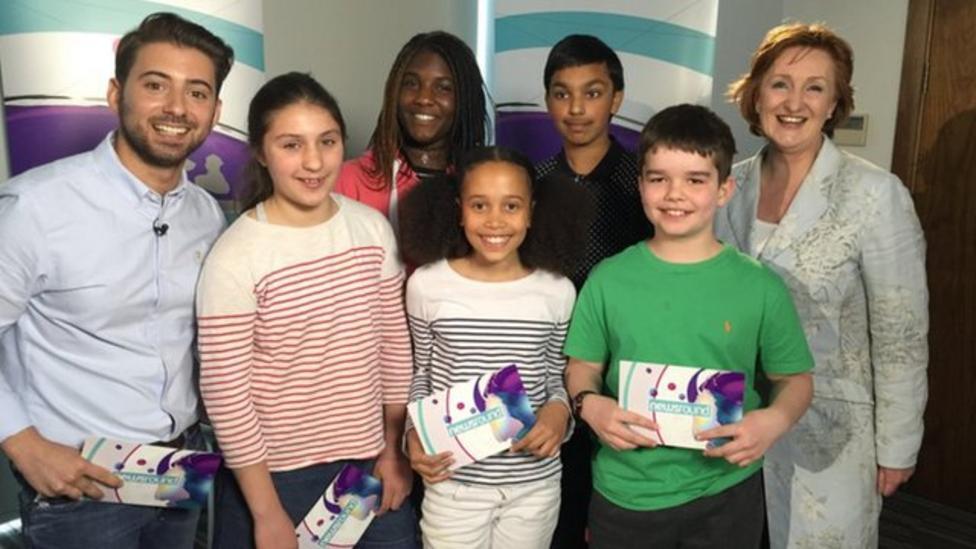 Newsround kids interview Suzanne Evans