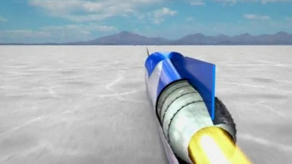 British team hopes for land speed record