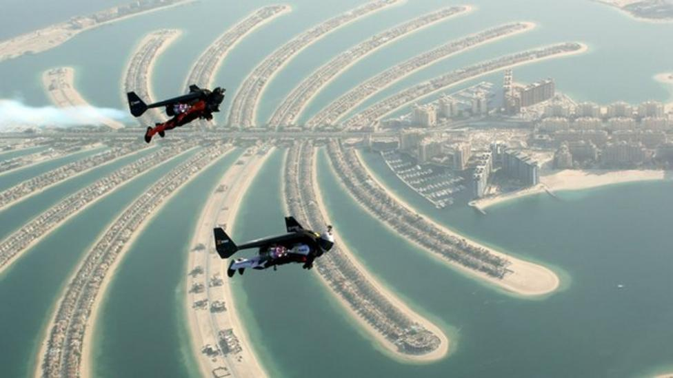 Sky's the limit for new jet pack pals