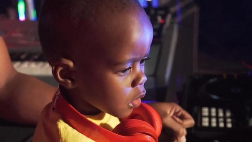Meet South Africa's 3-year-old DJ