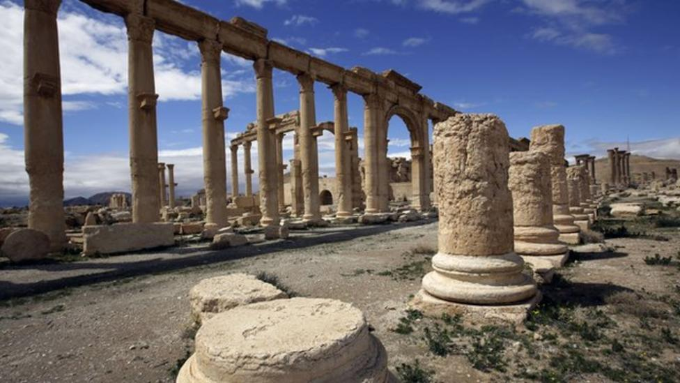 Islamic State take over ancient city