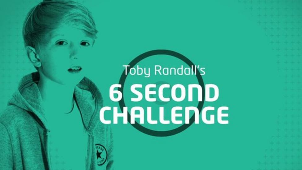 Toby Randall's 6-second challenge