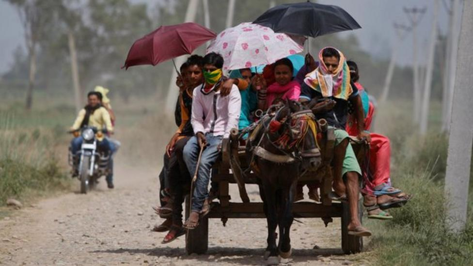 Heatwave continues in India
