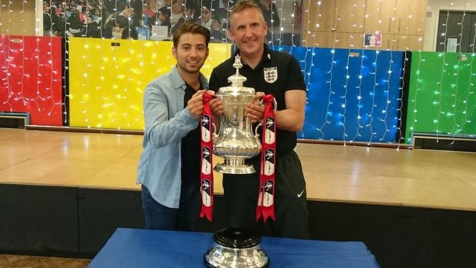 Headteacher to ref FA Cup final